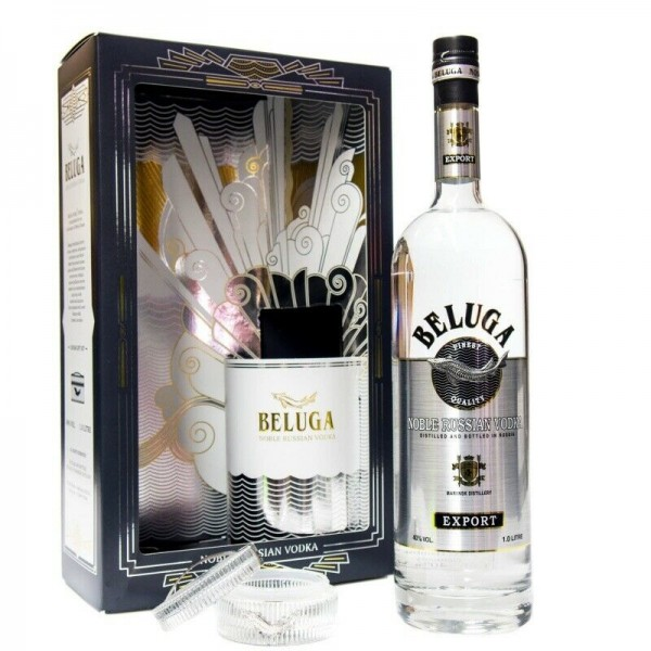 BELUGA Noble Russian Vodka 0,7 L, coffret-cadeau